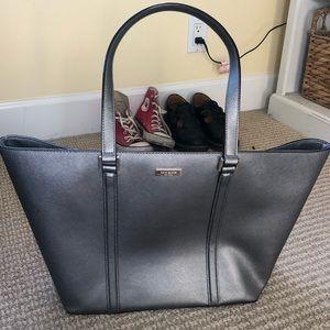Silver Kate spade bag!